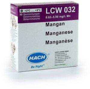 Фото HACH LCW032 Тест-набор на марганец (50 тестов)