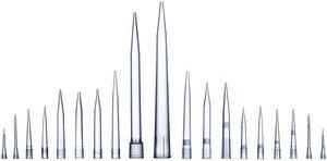 Фото Sartorius BioHit LH-780316 Optifit наконечники без фильтра (100-10000 мкл, россыпью 250 шт, не стерильные, l=155мм)