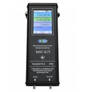 Фото МАГ-6 П-Т Многокомпонентный переносной газоанализатор (O2, CO2)