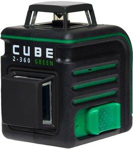 Фото ADA Cube 2-360 Green Ultimate Edition А00471 лазерный нивелир