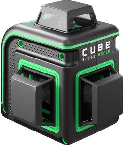 Фото ADA Cube 3-360 Green Basic Edition А00560 лазерный нивелир