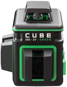 Фото ADA Cube 360 2V Green Professional Edition А00571 лазерный нивелир