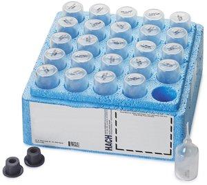 Фото HACH 2504025 Набор реагентов на медь (0,04-5,00 мг/л, 25 тестов)