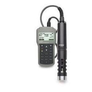 Фото HI 98194/10 pH-метр/ОВП-метр/кондуктометр/оксиметр портативный (pH/ORP/EC, кабель 10 м)
