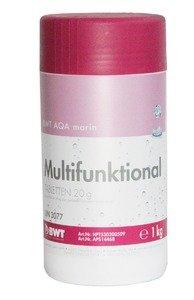 Фото BWT AQA marin Multifunktional Tabletten 14468 Многофункциональный препарат для дезинфекции бассейна (20 гр, 1 кг)
