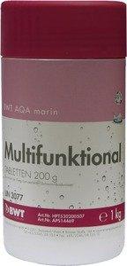 Фото BWT AQA marin Multifunktional Tabletten 14469 Многофункциональный препарат для дезинфекции бассейна (200 гр, 1 кг)