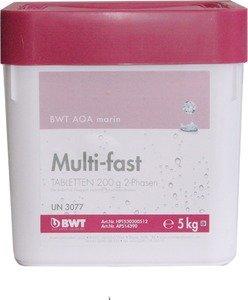 Фото BWT AQA marin Multi-fast Tabletten 14390 Многофункциональный препарат для дезинфекции бассейна (200 гр, 5 кг)