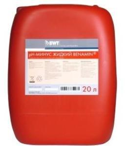 Фото BWT pH Benamin 351223-R Регулятор pH минус (20 л)