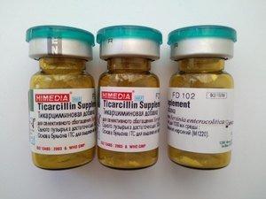 Фото HiMedia FD102-5VL Добавка тикарциллиновая (1уп.х5фл.)