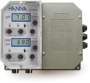 Фото HI9913-1 Настенный двойной контроллер pH / проводимости