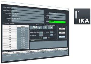 Фото IKA IPCS Pipette Calibration Software 0020022141 Программное обеспечение