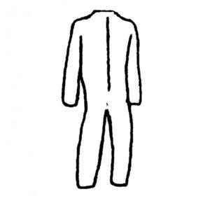 Фото TESTING 8.0605 защитный костюм с капюшоном