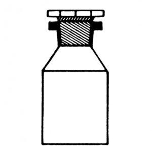 Фото TESTING 8.0132 Широкогорлая бутыль с пробкой (2000 мл)