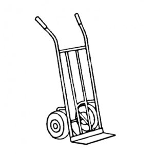 Фото TESTING 8.1510 Тележка для перевозки мешков (300 кг)