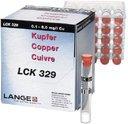 HACH LCK329 тест-набор на медь (0,1–8,0 мг/л, 25 тестов)