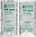 HI9829-12 Калибровочные стандартные саше 10 ppm хлоридов (25 x 25 мл)